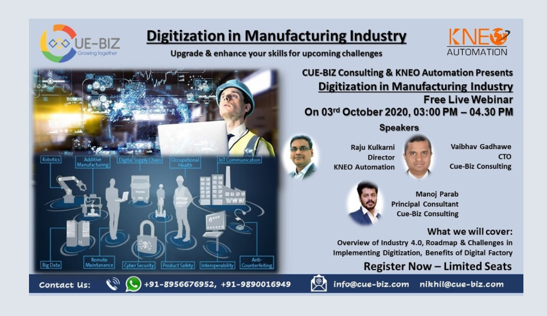 Digitization in Manufacturing Industry