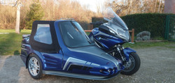 BMW R1200RT SAPHIR hechard side-cars