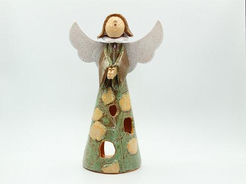 Beith/ Birch Angel - Ceramic