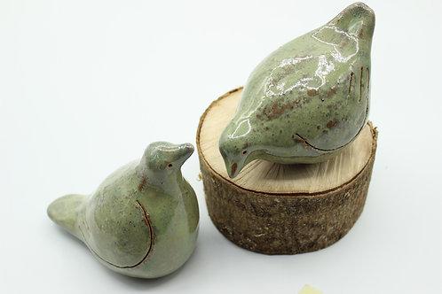 Love Birds Oyster- Ceramic