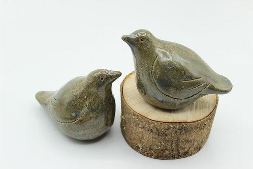 Love Birds Olive- Ceramic