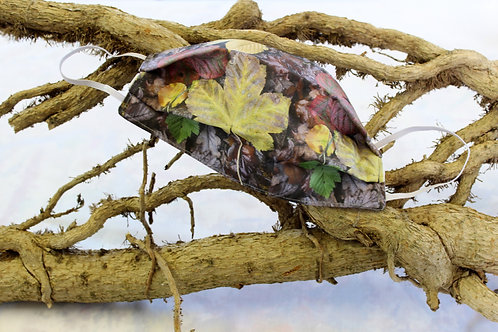 Touched by Nature, Autumn Leaves Mask