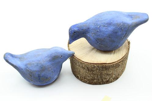Love Birds Sapphire- Ceramic