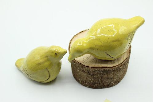 Love Birds Lemon- Ceramic