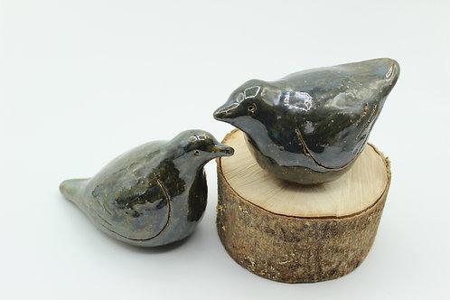 Love Birds Ultramarine- Ceramic