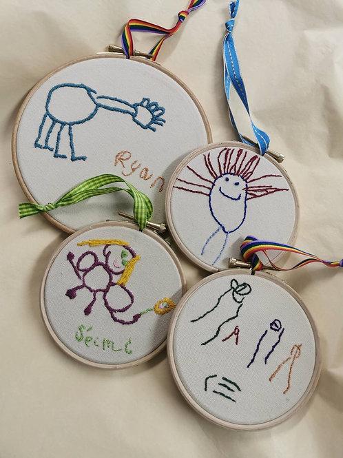 Children's Art Embroidery
