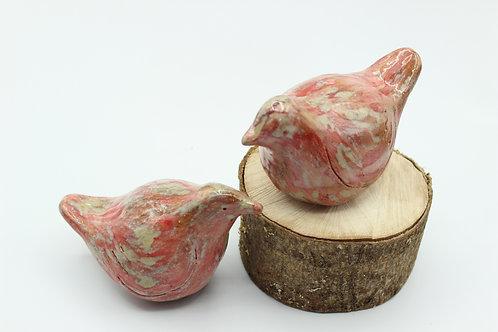 Love Birds Rose- Ceramic