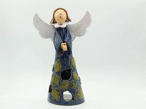 Beith/ Birch (Blue/Green)Angel - Ceramic
