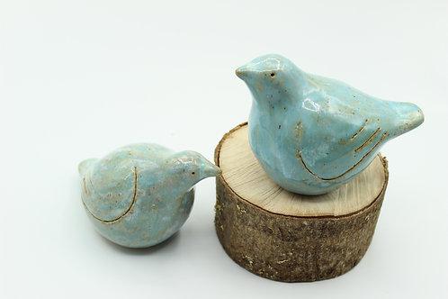 Love Birds Turquoise- Ceramic