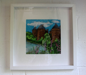 Chateau framed