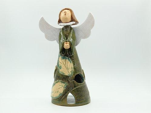 Fea/ Beech (Textured) Angel - Ceramic