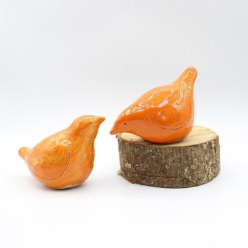 Love Birds Apricot - Ceramic