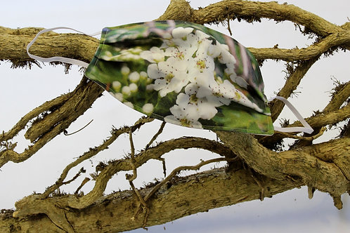 Touched by Nature, Hawthorn Blossom Mask