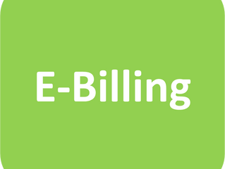 Sign up for FREE e-billing!