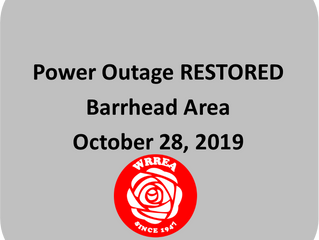Power Outage RESTORED: Barrhead Area