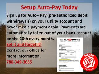 Setup Auto-Pay Today