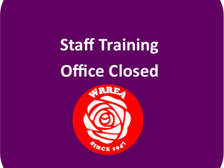 Staff Training: Office Closed