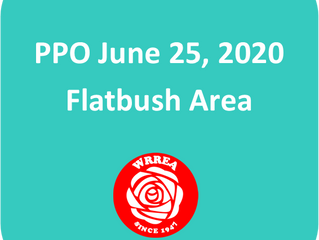 PPO June 25, 2020 Flatbush Area