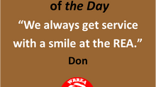 Member Quote of the Day