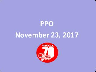 PPO- November 23, 2017