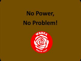 No Power, No Problem!