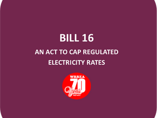 Bill 16- An Act to Cap Regulated Electricity Rates