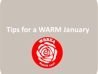 Tips for a WARM January