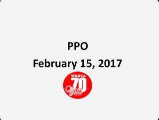PPO February 15, 2017