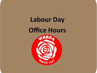 Labour Day Office Hours