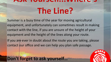 Ask Yourself...Where's The Line?