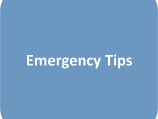 Emergency Tips