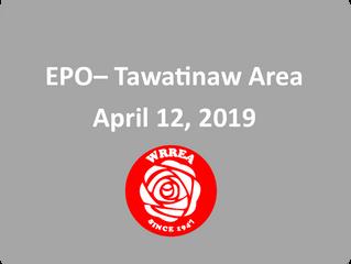 EPO- April 12, 2019 Tawatinaw Area