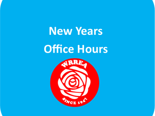 New Years Office Hours
