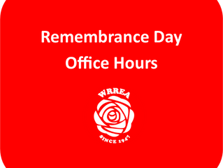 Remembrance Day Office Hours