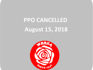 PPO CANCELLED August 15, 2018
