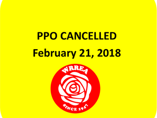 PPO Cancelled: February 21, 2018