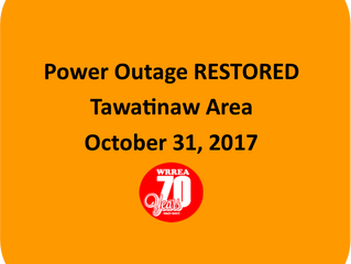 Power Outage RESTORED- Tawatinaw Area