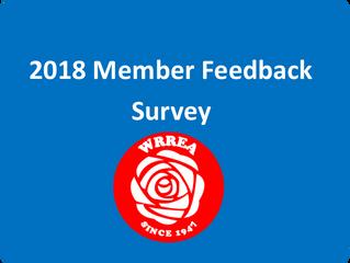 2018 Member Feedback Survey