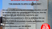 WRREA Scholarship- Deadline to Apply is March 2, 2021