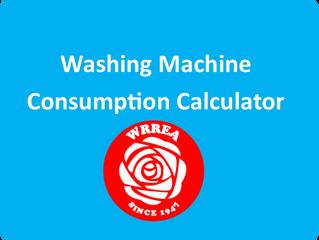 Washing Machine Consumption Calculator