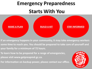 Emergency Preparedness Starts With You
