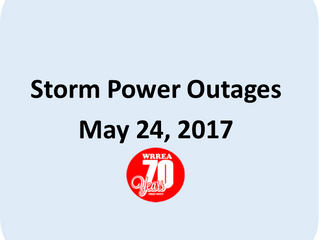 Storm Power Outages- May 24, 2017