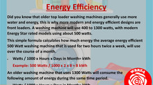 Washing Machine- Energy Efficiency