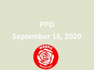 Transmission Line PPO September 23, 2020