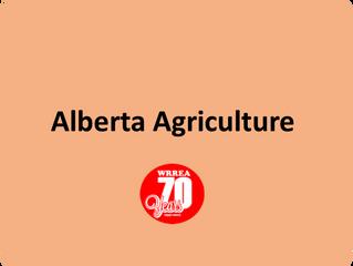 Alberta Agriculture News