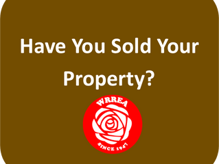 Have You Sold Your Property?