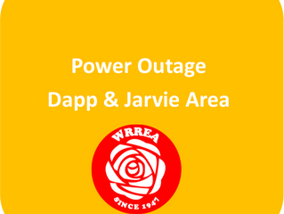Power Outage- Dapp & Jarvie Areas