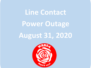 Line Contact Power Outage Fawcett Area
