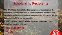 2021 Wild Rose REA Ltd. Scholarship Recipients