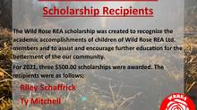 2021 Wild Rose REA Ltd. Scholarship Recipients